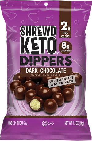 Shrewd - Keto Dippers - Dark Chocolate - 1.2 oz bag