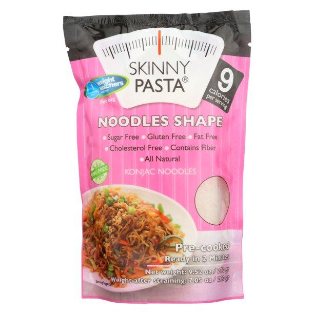 Skinny Pasta Weight Watchers - Noodles - 9.52 oz bag