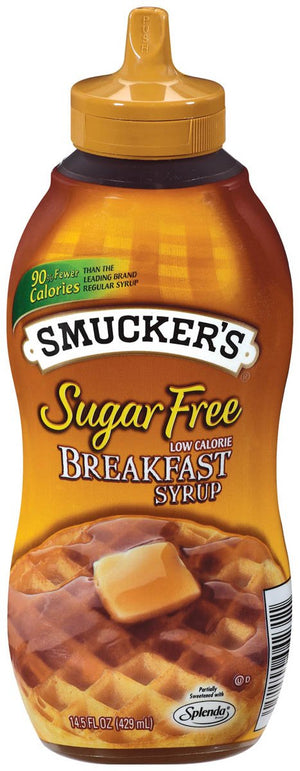 Smuckers - Sugar Free Breakfast Syrup - 14.5 oz bottle