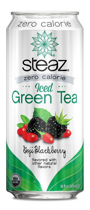 Steaz - Zero Calorie Iced Tea - Goji Blackberry
