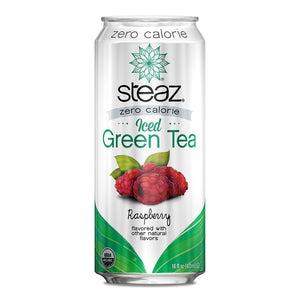 Steaz - Zero Calorie Iced Tea - Raspberry