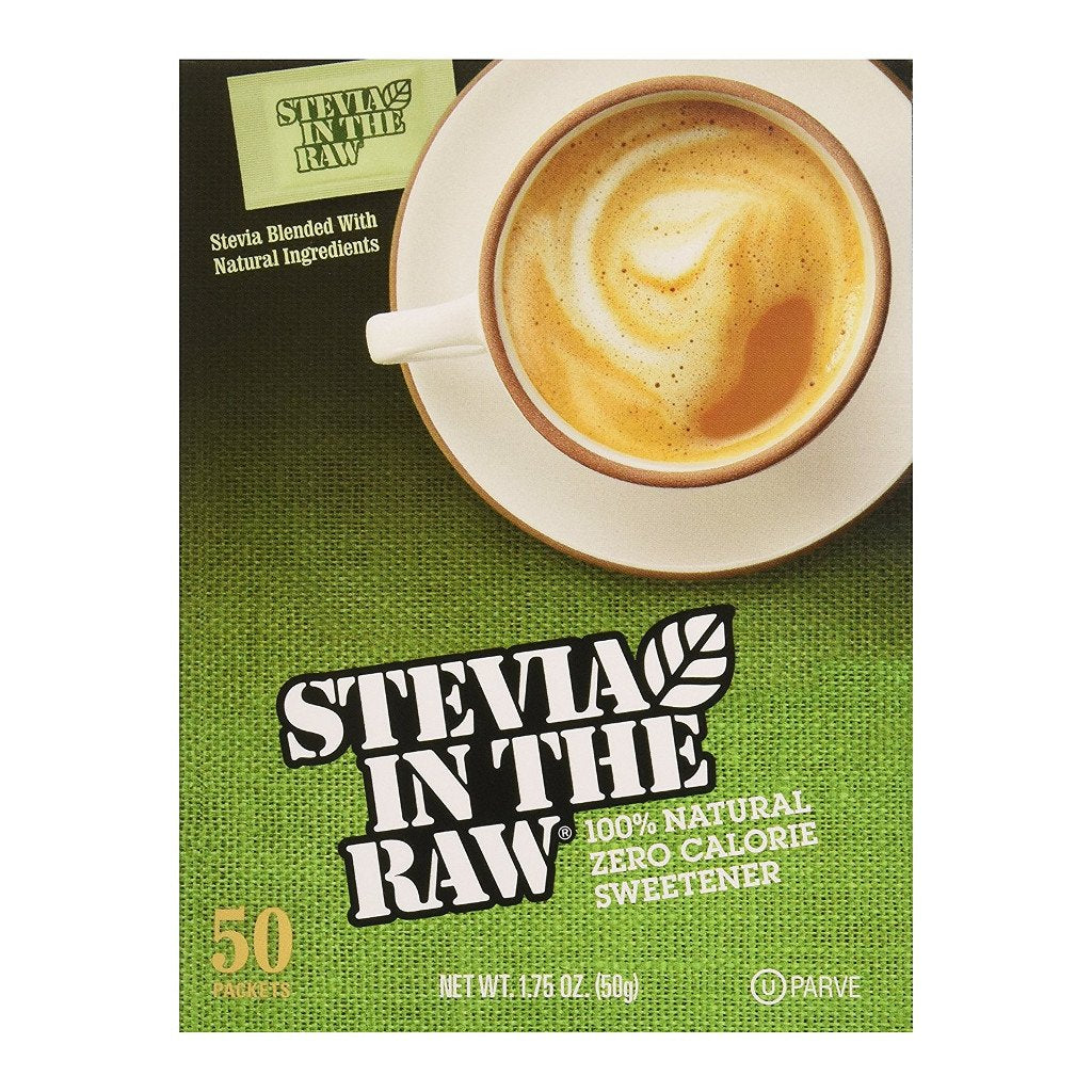 Cumberland Packing - Stevia Extract Raw - 50 Packets