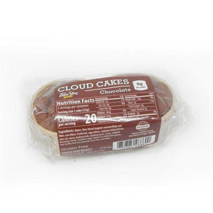 ThinSlim Foods - Cloud Cakes - Chocolate - 2pack