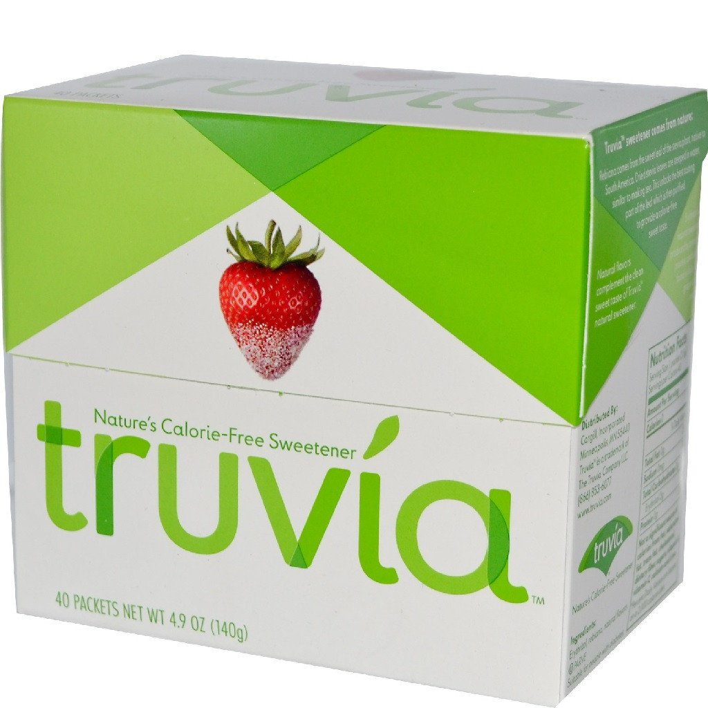 Truvia - Sweetener Box - 40 Packets - Low Carb Canada