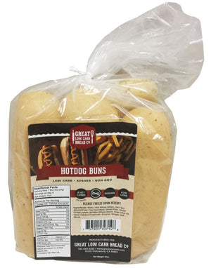 Great Low Carb Bread Company - Hotdog Buns - 12 oz bag