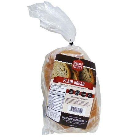 Great Low Carb Bread Company - Thin Sliced Bread - Plain - 16 oz bag