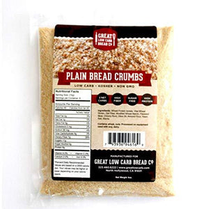 Great Low Carb Bread Company - Bread Crumbs - Plain flavour - 4 oz bag