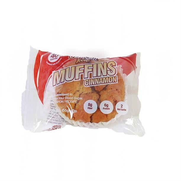 ThinSlim Foods - Cinnamon Muffin - Single - Low Carb Canada