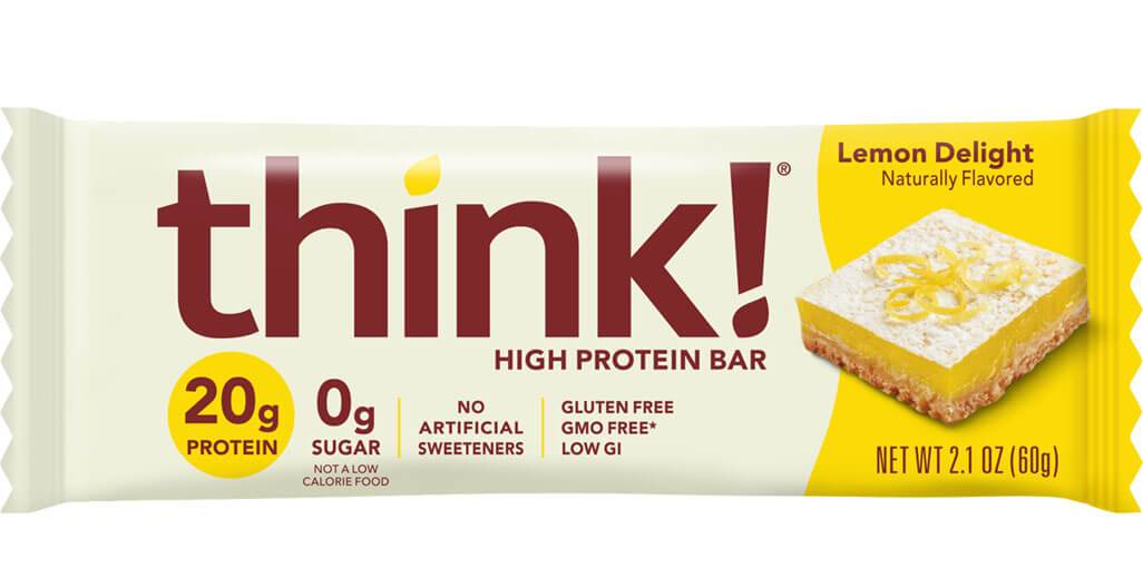 thinkThin - High Protein Bar - Lemon Delight