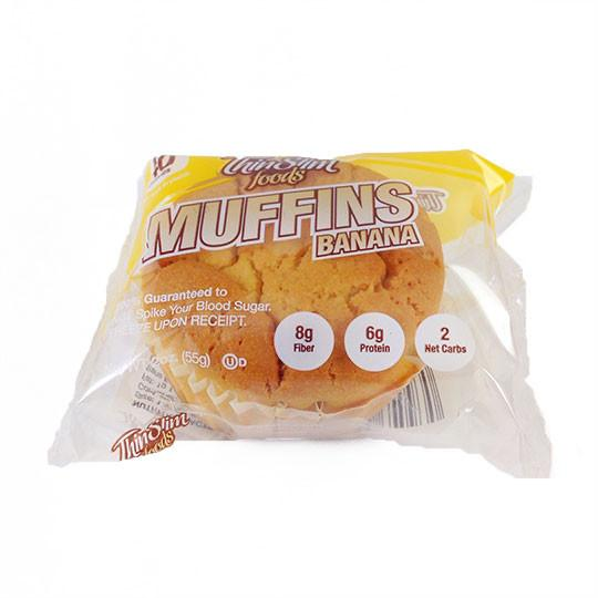 ThinSlim Foods - Banana Muffin - Single - Low Carb Canada