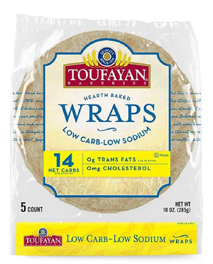Toufayan Bakeries - Large Wraps - 10 oz