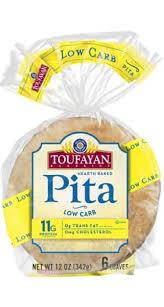 Toufayan Bakeries - Pita Bread - 12 oz