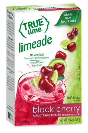 True Lime - Limeade Black Cherry - 10 count