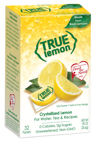 True. Lemon - 32 Packets