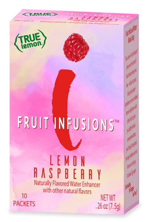 True Lemon Fruit Infusions - Lemon Raspberry - 10 Packets