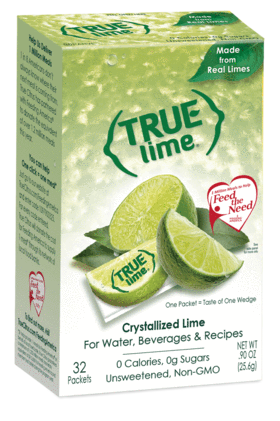 True. Lime - 32 Packets