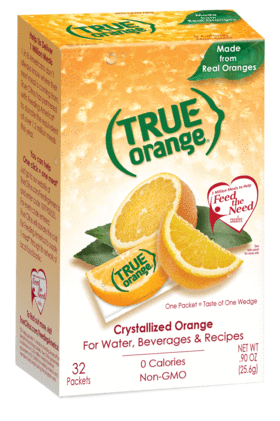 True. Orange - 32 Packets