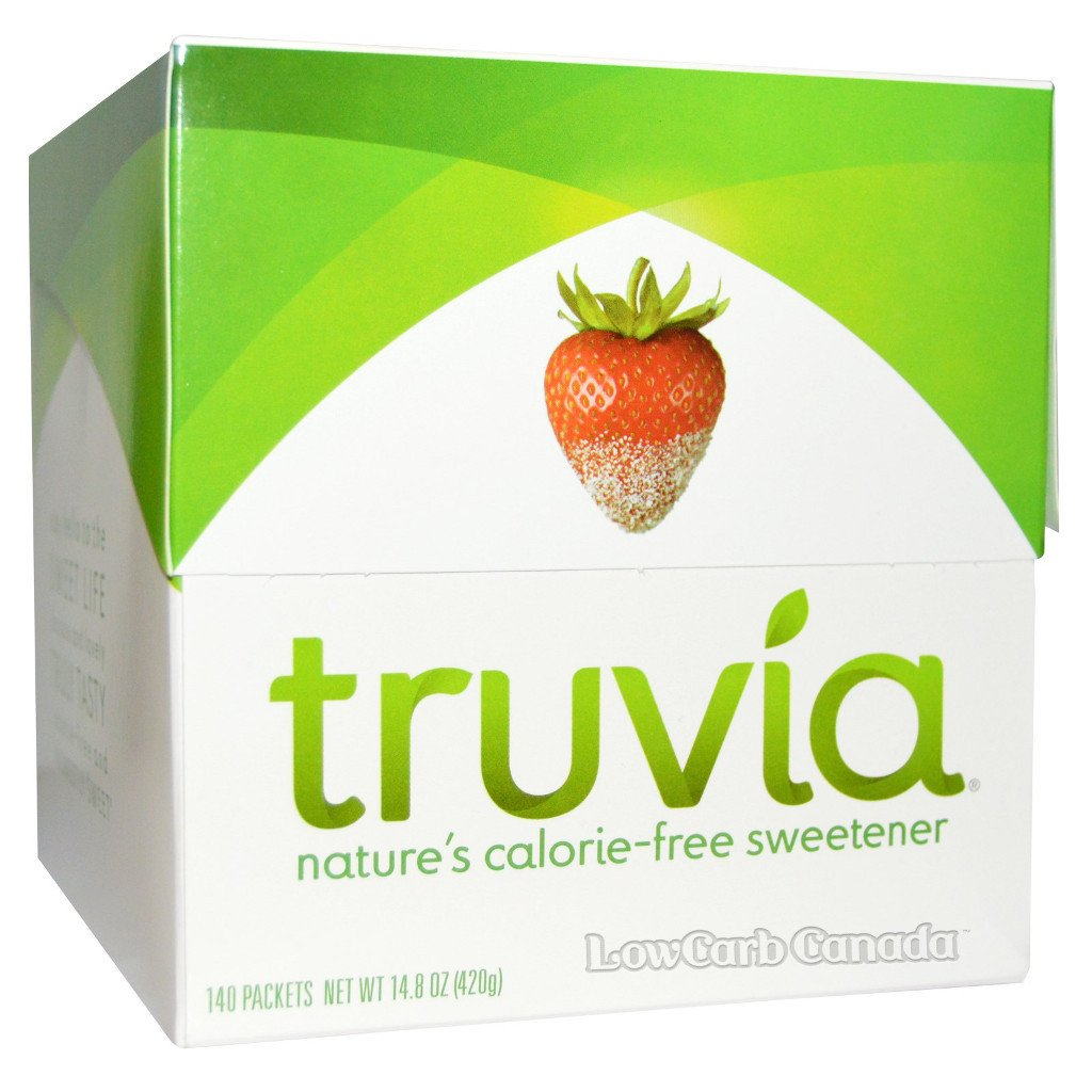 Truvia - Sweetener Box - 140 Packets - Low Carb Canada