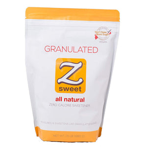 ZSweet - All Natural Zero Calorie Sweetener - Granulated 1.5 lb