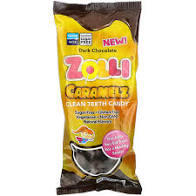 Zolli Pops - Zolli Caramelz - Dark Chocolate Covered - 3 oz bag