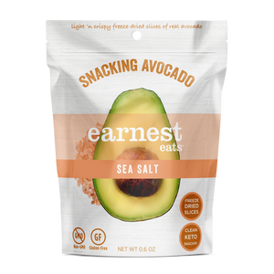 Earnest Eats - Snacking Avocado - Sea Salt - 0.6 oz