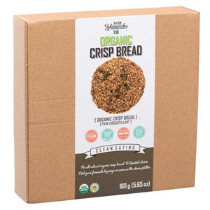 KZ Clean Eating - Organic Crisp Bread - Pumpkin Seeds
