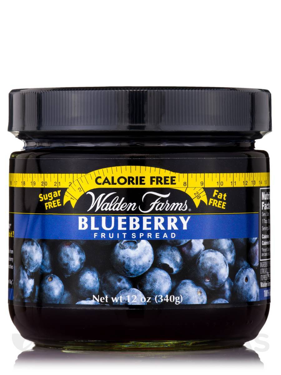 Walden Farms - Spread - Blueberry - 12 oz