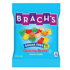 Brachs - Sugar Free Gummy Bears - 3 oz Bag