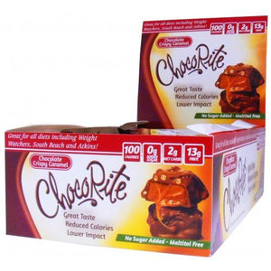 Healthsmart - ChocoRite Clusters - Chocolate Crispy Caramel - Low Carb Canada