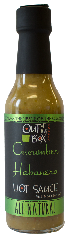 Out of the Box - Gourmet Hot Sauce - Cucumber Habanero