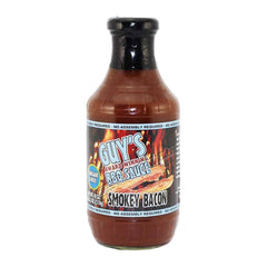Guy's - Sugar Free BBQ Sauce - Smokey Bacon - 18 oz - Low Carb Canada - 1