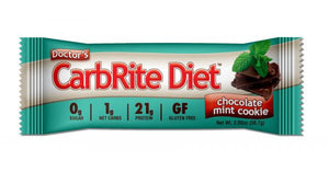 Doctor's CarbRite Diet Bar - Chocolate Mint Cookie