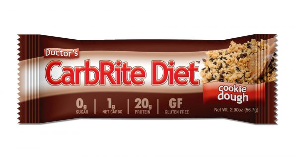Doctor's CarbRite Diet Bar - Cookie Dough