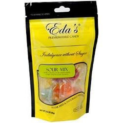 Eda's Sugar Free Hard Candy - Sour Mix - 3.5 oz - Low Carb Canada