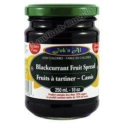 Jok n Al - Fruit Spreads - Blackcurrant - 10 oz - Low Carb Canada