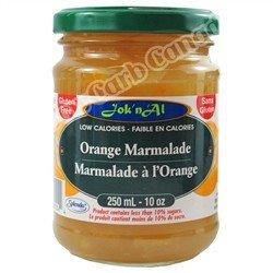 Jok n Al - Fruit Spreads - Orange Marmalade - 10 oz - Low Carb Canada