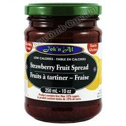 Jok n Al - Fruit Spreads - Strawberry - 10 oz - Low Carb Canada