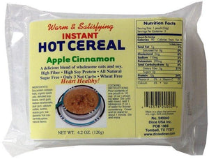 Dixie - Instant Hot Cereal - Apple Cinnamon - 5 Pk - Low Carb Canada