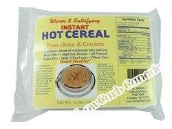 Dixie - Instant Hot Cereal - Peaches & Cream - 5 Pk - Low Carb Canada