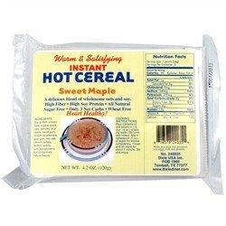 Dixie - Instant Hot Cereal - Sweet Maple - 5 Pk - Low Carb Canada