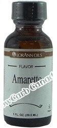LorAnn Oils - Gourmet Flavorings - Amaretto - 1 fl oz - Low Carb Canada