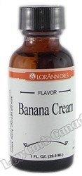 LorAnn Oils - Gourmet Flavorings - Banana Creme - 1 fl oz - Low Carb Canada