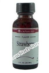 LorAnn Oils - Gourmet Flavorings - Strawberry - 1 fl oz - Low Carb Canada