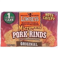 Lowrey's - Bacon Curls Microwave Pork Rinds - Original - Low Carb Canada