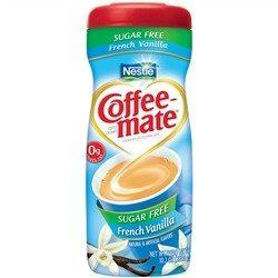 Nestle - Sugar Free Coffee Mate Powder - French Vanilla - 10.2 oz - Low Carb Canada