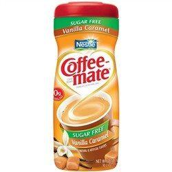 Nestle - Sugar Free Coffee Mate Powder - Vanilla Caramel - 10.2 oz - Low Carb Canada