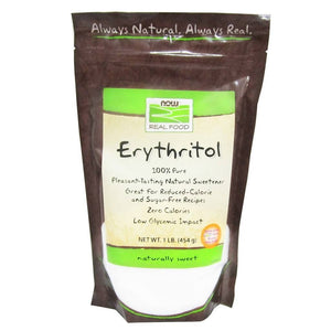 NOW - Erythritol Granular - 1 lb - Low Carb Canada