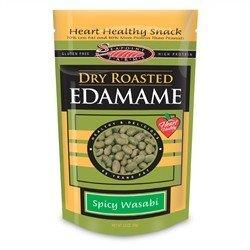 Seapoint Farms - Dry Roasted Edamame -Spicy Wasabi - 3.5 oz - Low Carb Canada - 2
