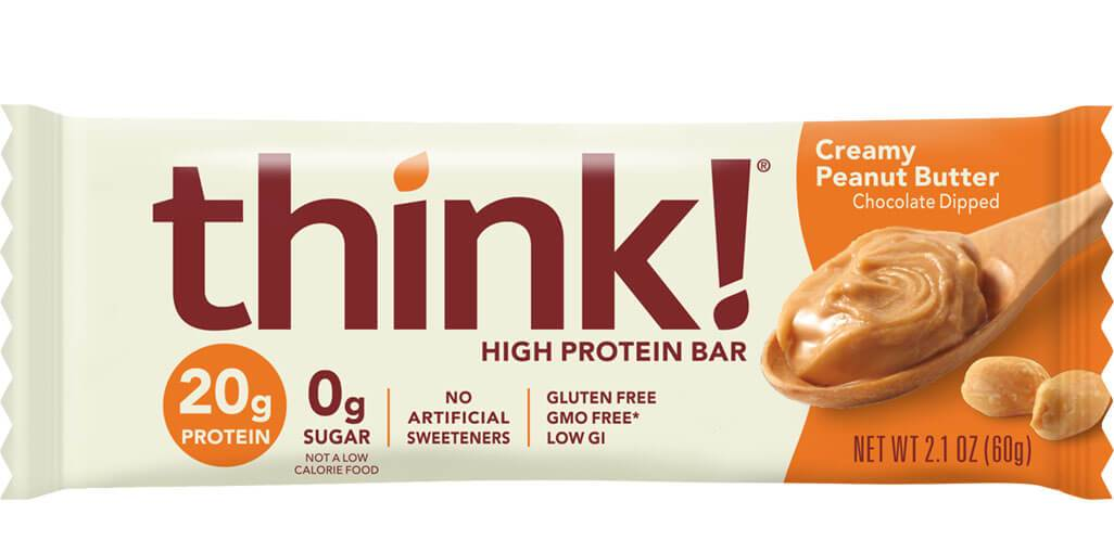 thinkThin - High Protein Bar - Creamy Peanut Butter