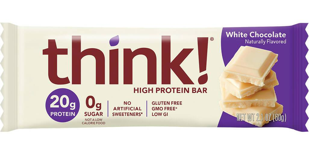 thinkThin - High Protein Bar - White Chocolate